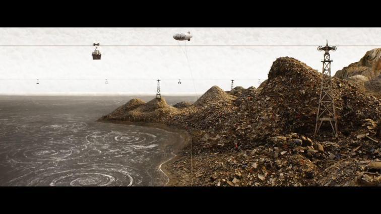 La Isla convertida en un vertedero de basura tóxica.