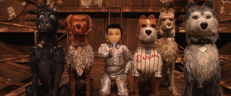 Los protagonistas de Isla de perros